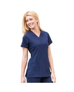 Jockey Women's Tri Blend Solid Scrub Top 2206