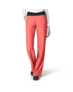 Women's No Roll Knit Waist Scrub Pant 5225 By WonderWink